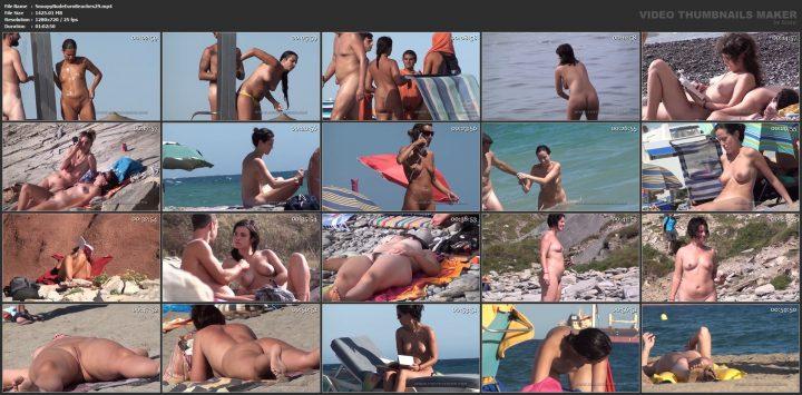 Snoopy Nude Euro Beaches 29
