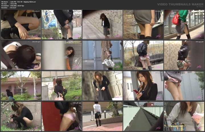 Jade Phi – P21-09 – Ripping Skirts