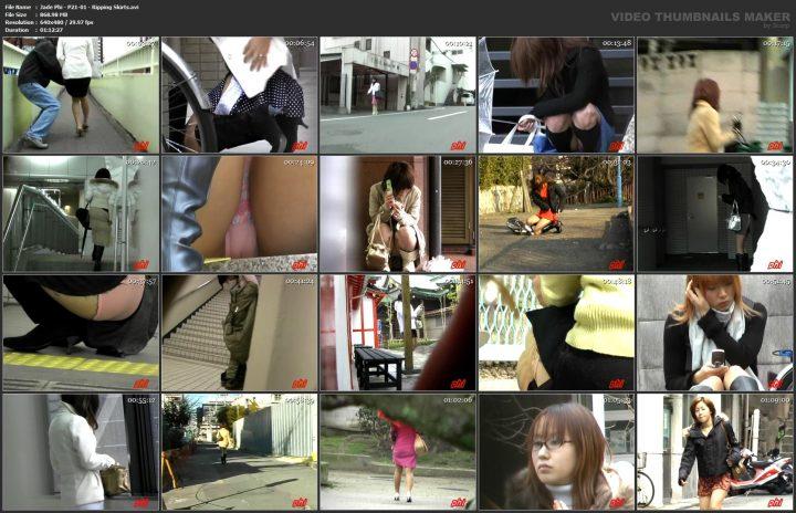 Jade Phi – P21-01 – Ripping Skirts