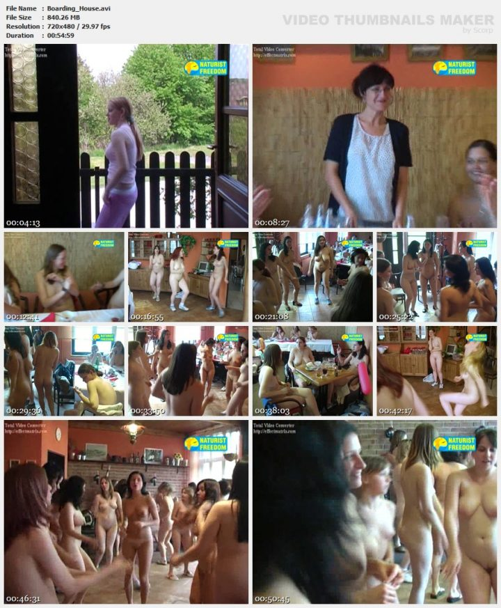 Family Pure Nudism Boarding House