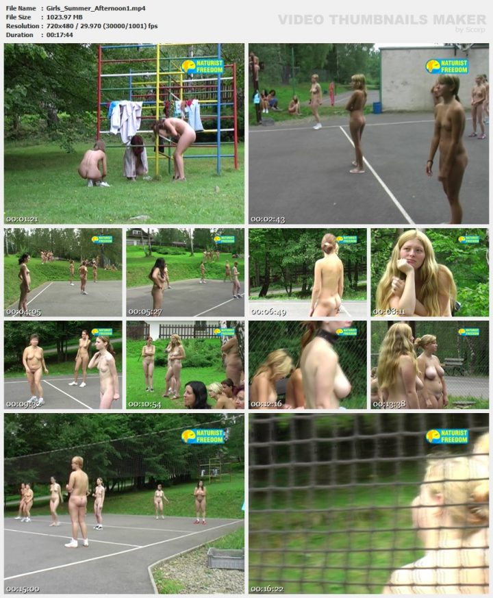 Family Pure Nudism Girls Summer Afternoon vol.1