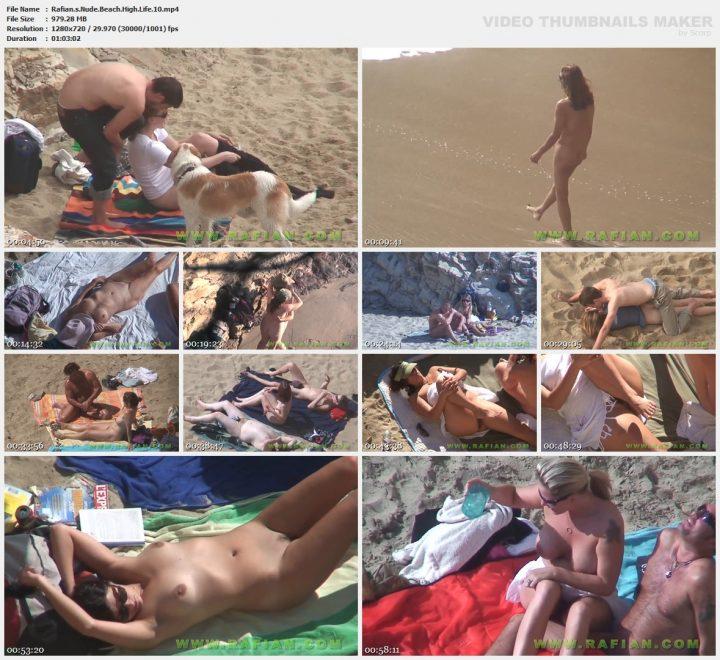 Rafian's Nude Beach High Life 10