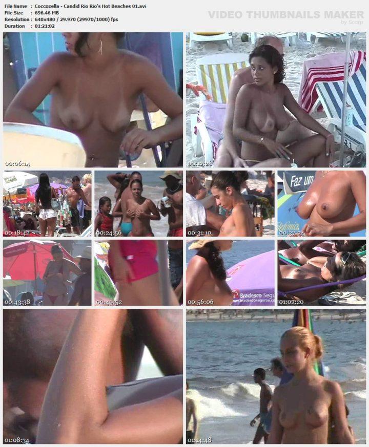Coccozella – Candid Rio Rio's Hot Beaches 01