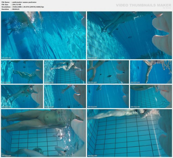 Underwater sauna pool