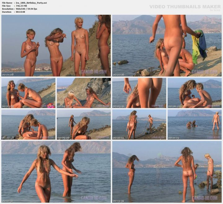 Family Pure Nudism Ira 18th Birthday Party