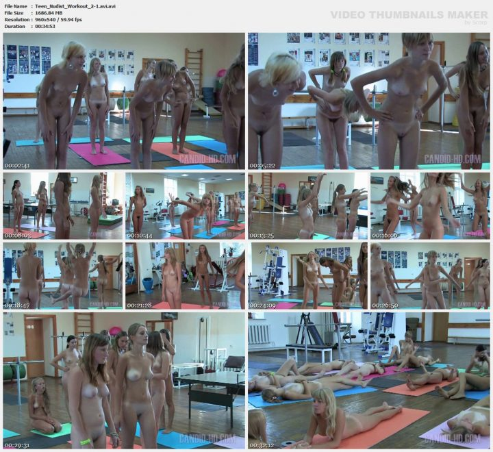 Family Pure Nudism Teen Nudist Workout 2-1.avi