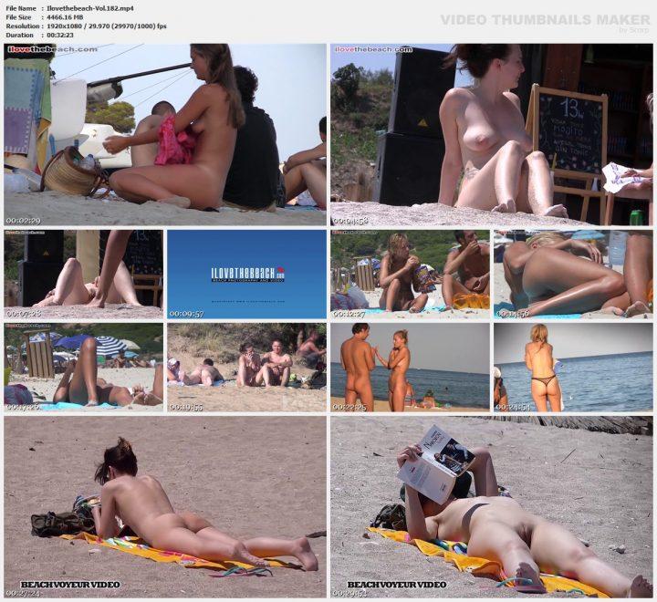 I love the beach -Vol.182