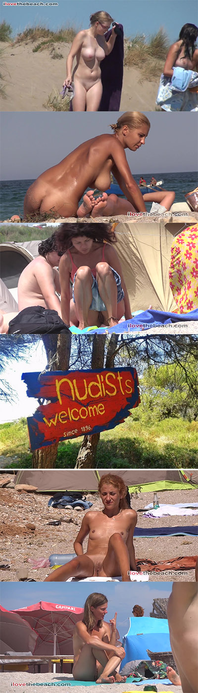Nude Beach Life, Family Nudist Beach