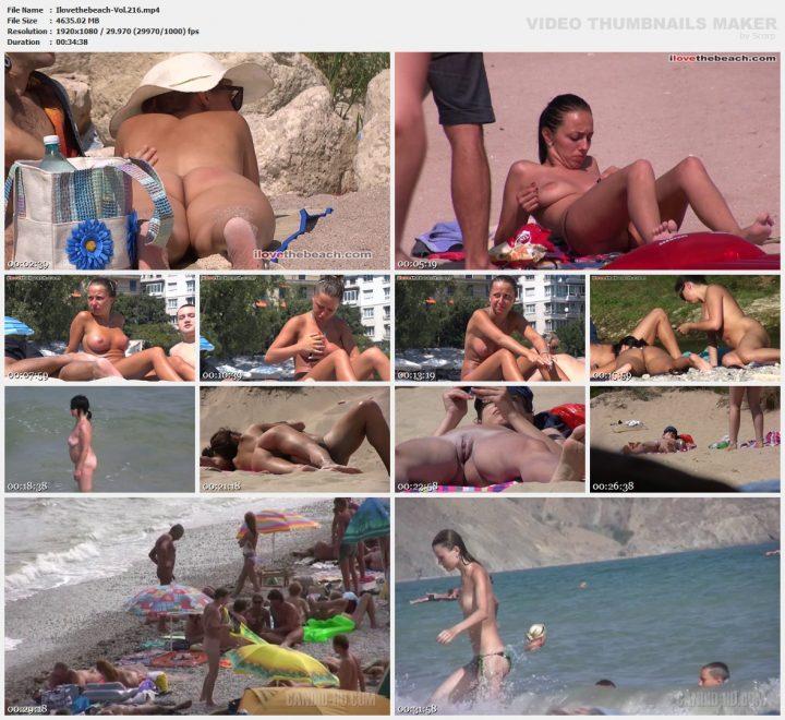 I love the beach -Vol.216