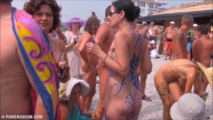 Family Pure Nudism Neptune Ocean Festival vol.1