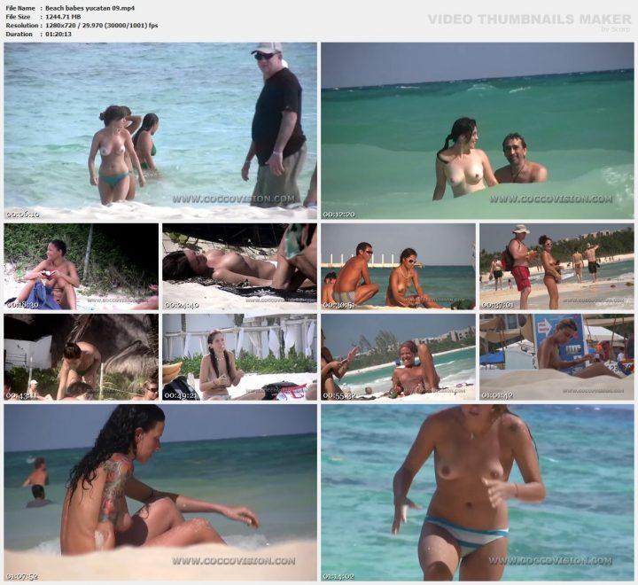 Beach babes yucatan 09
