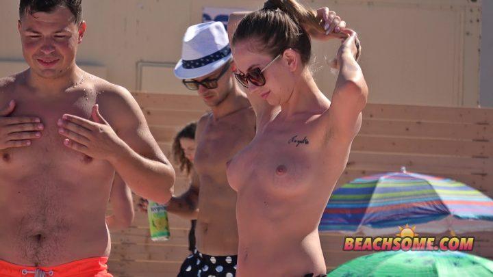 Beach Voyeur 4K Nude 3096
