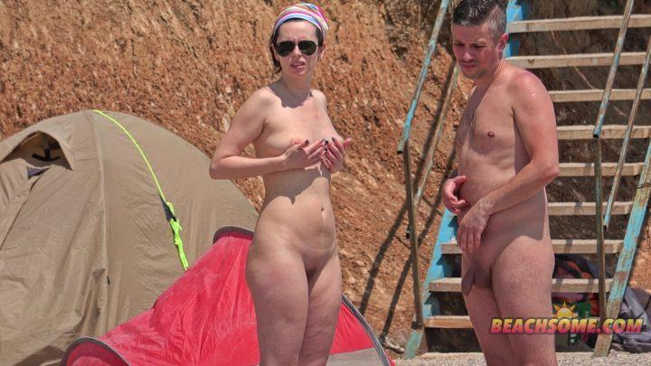 Beach Voyeur 4K Nude 1020