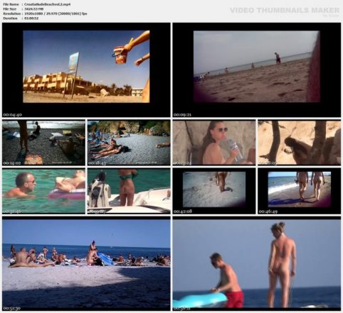 Croatia Nude Beach vol.2 - VoyeurPapa