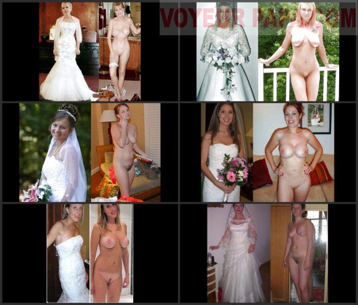 Dressed undressed brides slideshow.1