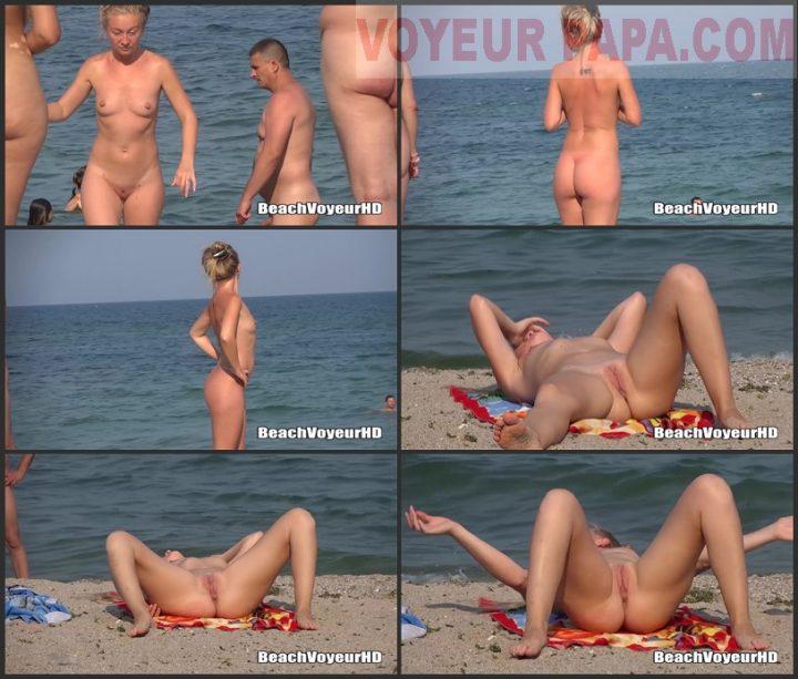 Beach Voyeur HD Nude 644
