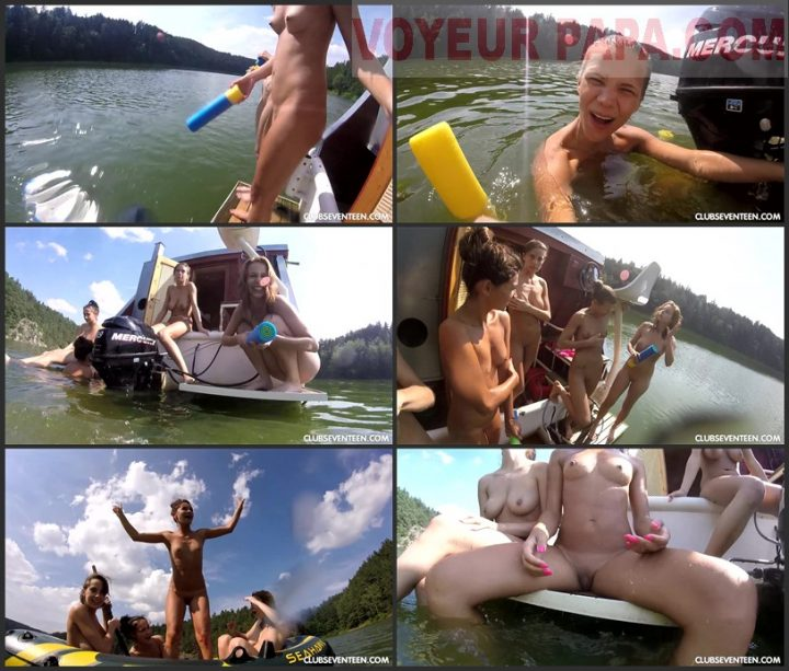 Family Pure Nudism SKINNY DIPPING