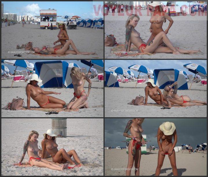 Alex – Red Bikinis on the Beach