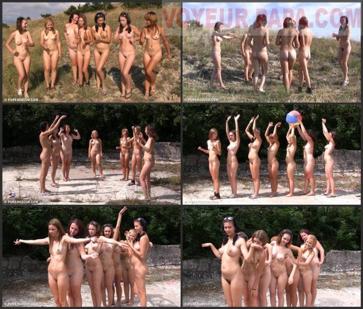 Pure Nudism Seven Nature Ladies 2