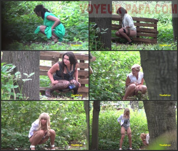 Women Pee In The Bushes 33