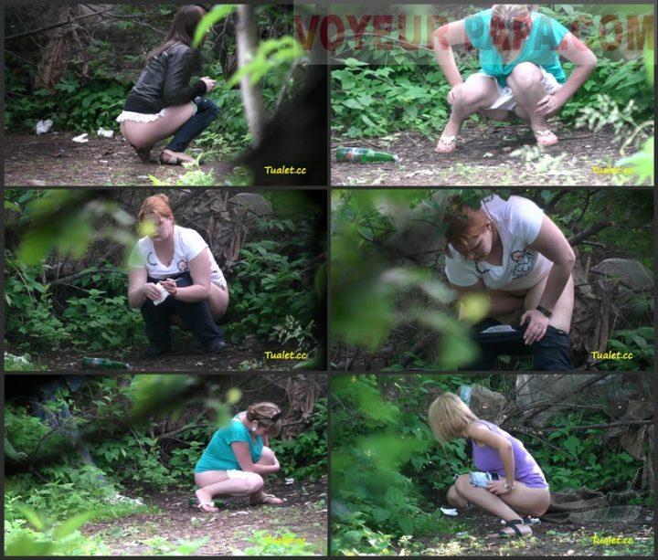 Women Pee In The Bushes 35