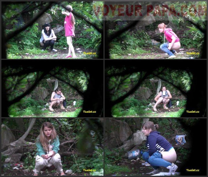 Women Pee In The Bushes 36