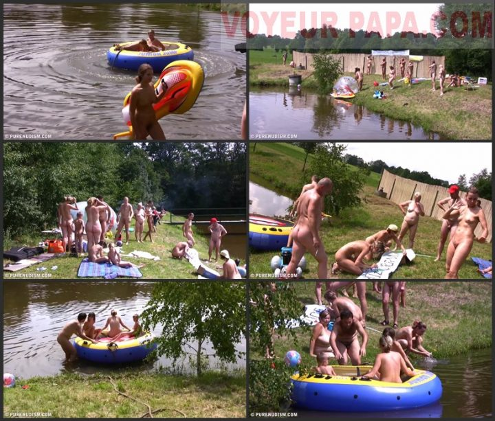 Family Pure Nudism Daytime Family Picnic Full video vol.1