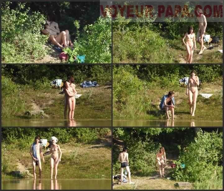 couple nude erection