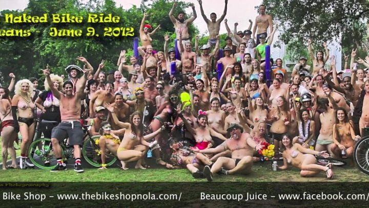 World Naked Bike Ride New Orleans 2012 – Full Ride